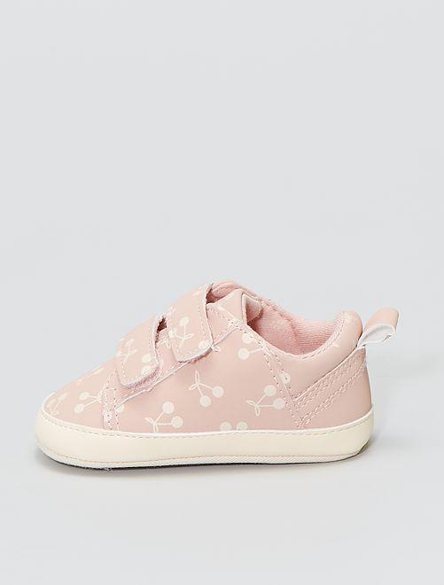 Sneakers met klittenbanden                             ROSE