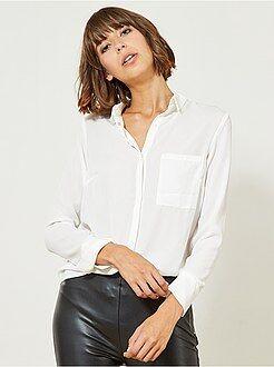 Blouse - Soepel vallende blouse