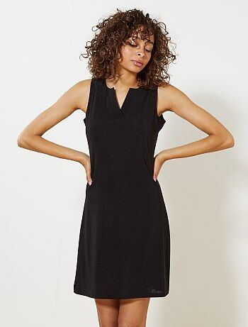 Soepele jurk met V-hals - Kiabi