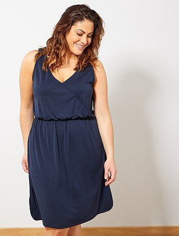 d022b2263ecd32 Soepele jurk van piquétricot - Kiabi