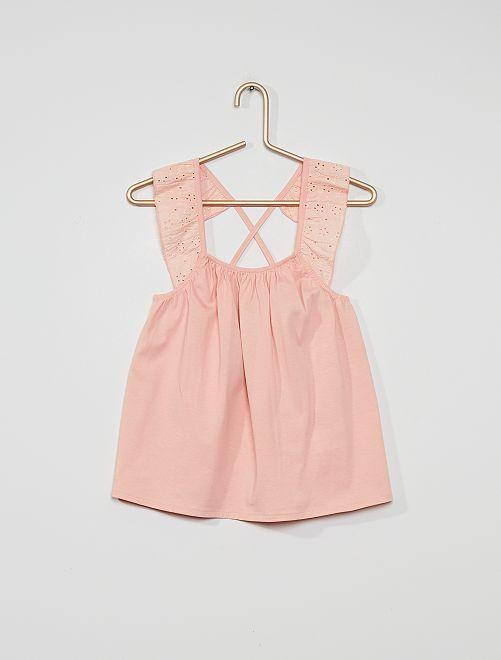 Soepelvallende blouse                                                                 roze