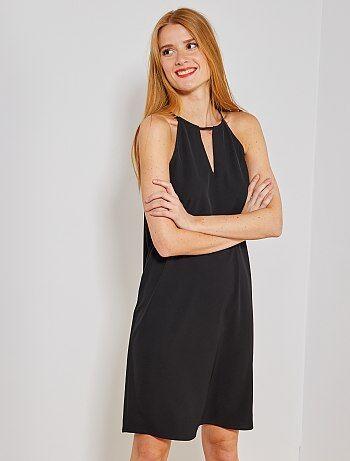 c58dfb9cfd02ae Dames zwarte jurk