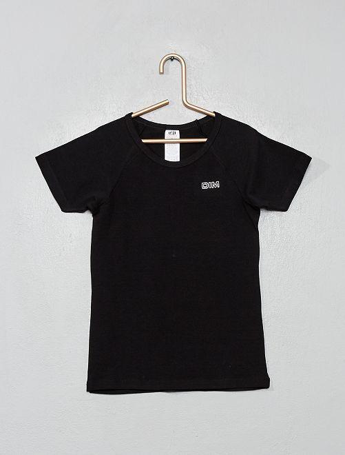 Sportshirt van 'DIM'                             zwart