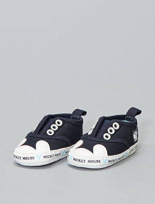 78222ea1e7ac47 Stoffen 'Mickey Mouse'-sneakers van 'Disney' Jongens babykleding ...