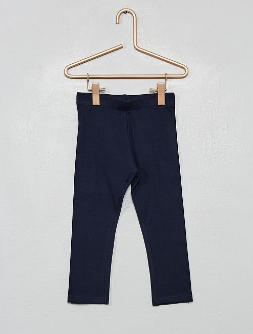 Stretch legging van jersey                                                                                                                             donkerblauw