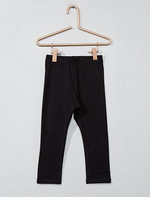 Stretch legging van jersey                                                                                                     zwart Meisjes babykleding