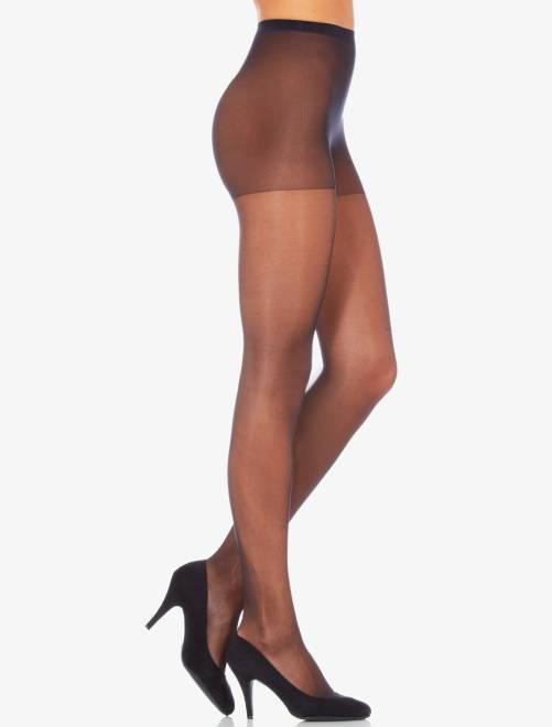 Sublim' panty van het merk 'Dim', 15 D glanzende voile                                                     zwart Lingerie maat s-xxl