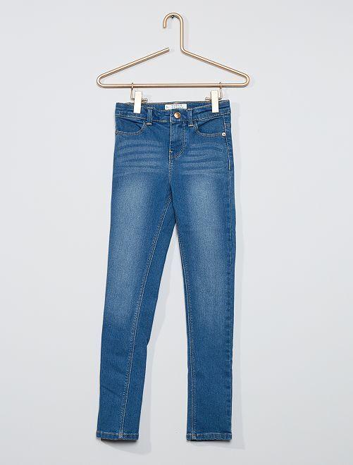 Super skinny jeans voor slanke kinderen                                                     BLAUW