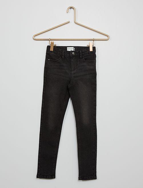 Super skinny jeans voor slanke kinderen                                                                 ZWART