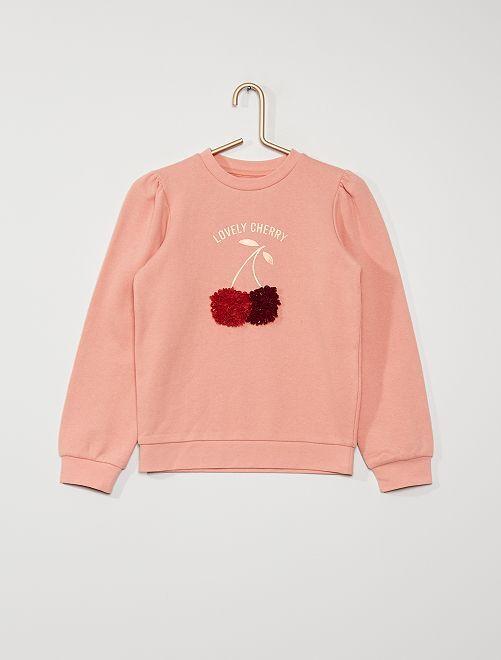 Sweater met print                                                         ROSE