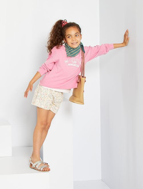 Sweater van molton                                         ROSE