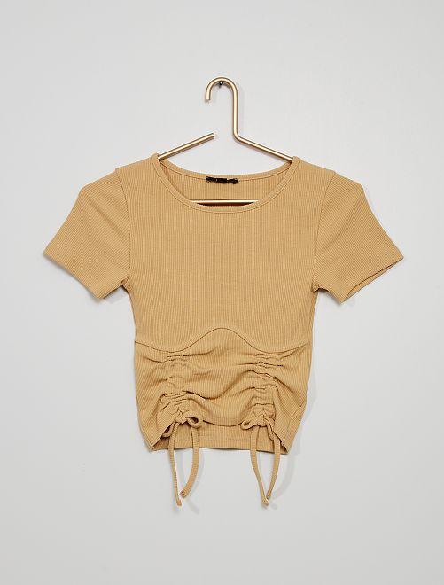 T-shirt                                         BIEGE
