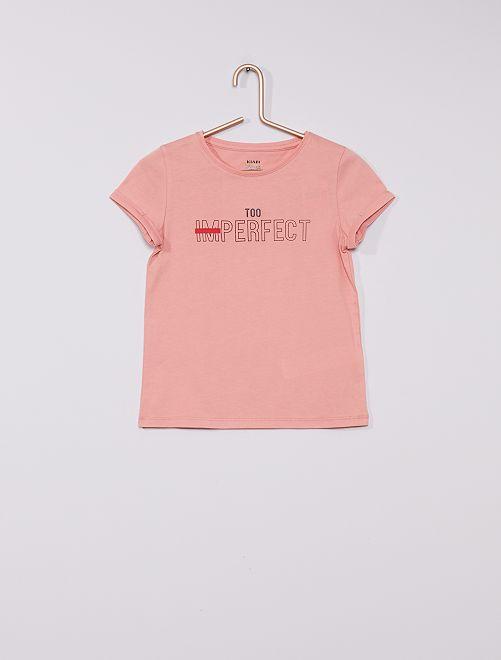 T-shirt 'Ecodesign'                                                                                                     ROSE