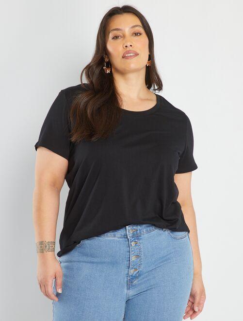 T-shirt 'Ecodesign'                                                                                                                                                                                                                                                                                         zwart