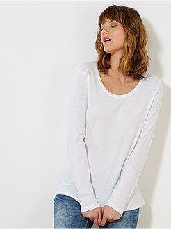 T-shirt - T-shirt met lange mouwen
