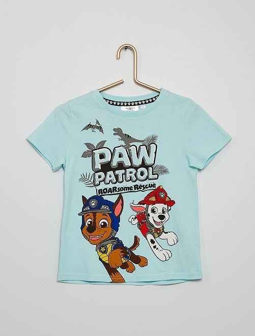 T-shirt met print 'PAW Patrol'                                 lichtblauw