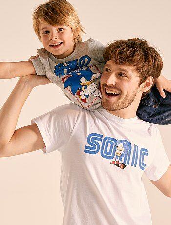b6d1b73c545f60 T-shirt met print van  Sonic  - Kiabi