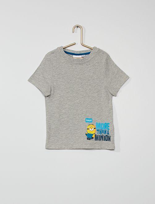 T-shirt 'Minions'                             GRIJS
