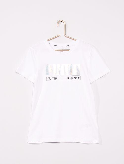 T-shirt 'Puma'                             WIT