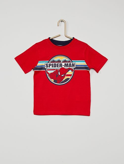 T-shirt 'Spider-Man'                                         rood