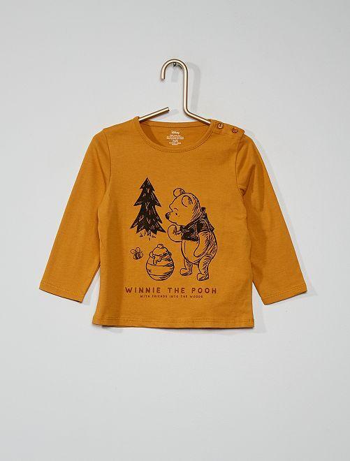 T-shirt 'Winnie' van 'Disney'                                         GEEL