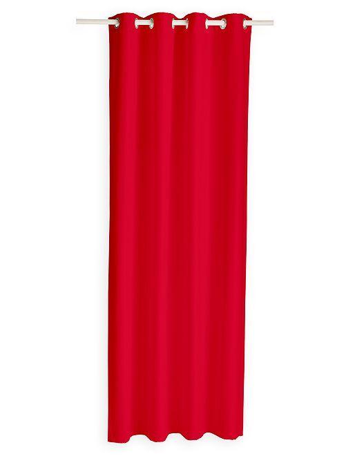 Thermisch isolerend gordijn                                                                                         rood