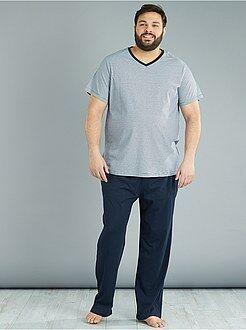 Tweedelige lange pyjama - Kiabi