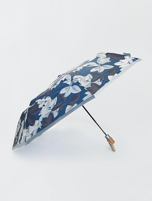 Uitschuifbare paraplu                             blauw