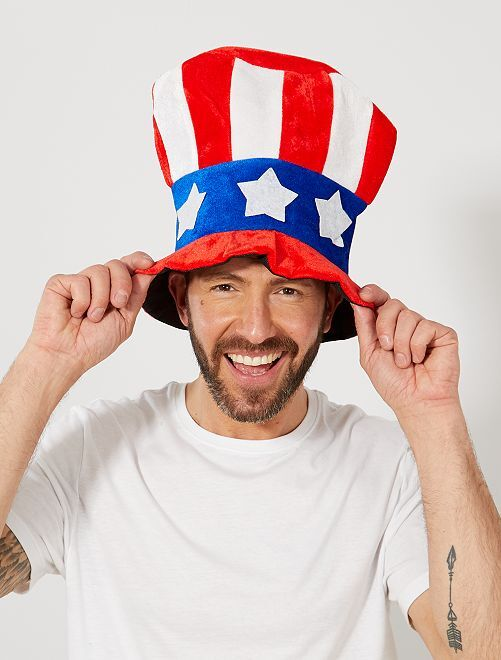 Uncle Sam-hoed                             BLAUW