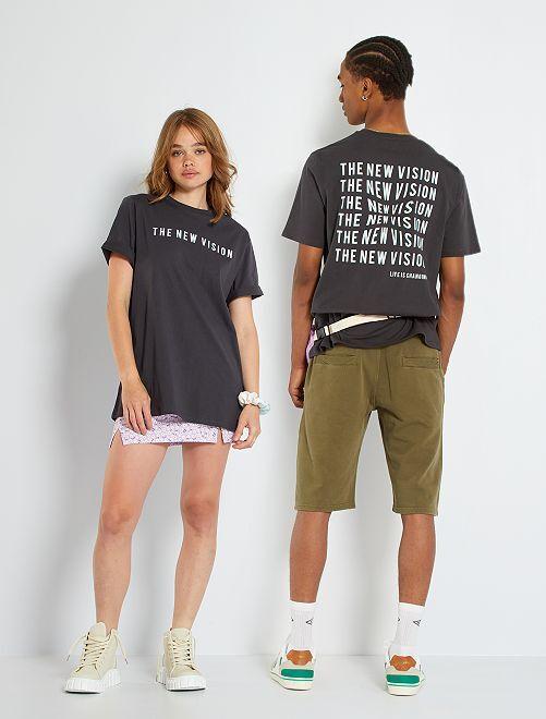 Uniseks T-shirt                             GRIJS