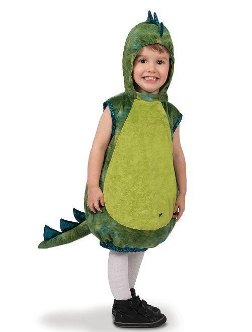 Verkleedkleding 'dinosaurus'                             GROEN