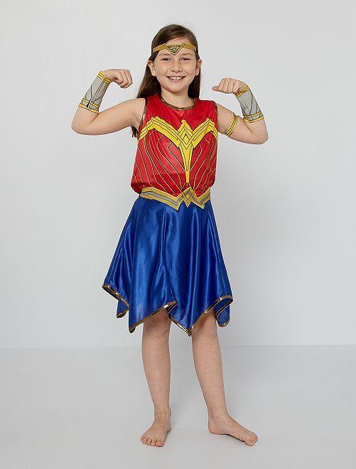 Verkleedkleding 'Wonder Woman'                             rood / blauw
