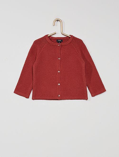 Vest 'Ecodesign'                                         rode baksteen