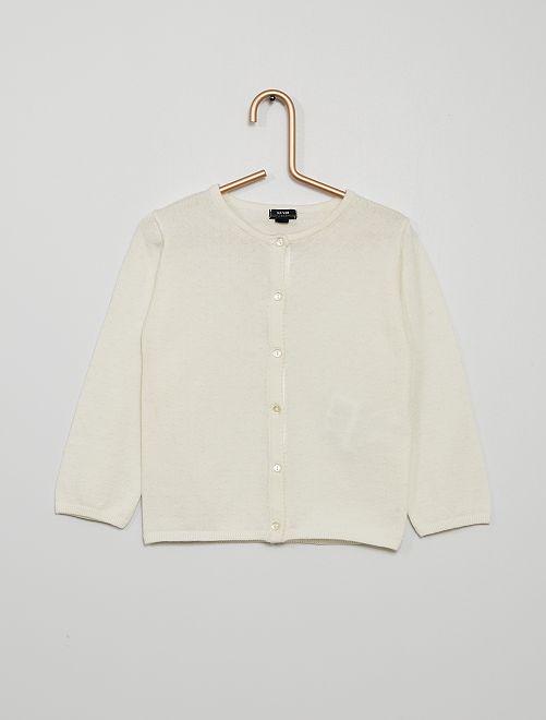 Vest 'Ecodesign'                                                                             sneeuw wit