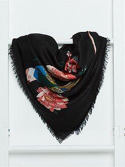 Accessoires - Vierkante, soepele sjaal