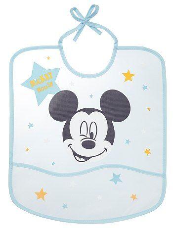 ebb3acd89f8 Waterdicht slabbetje van 'Mickey' - Kiabi