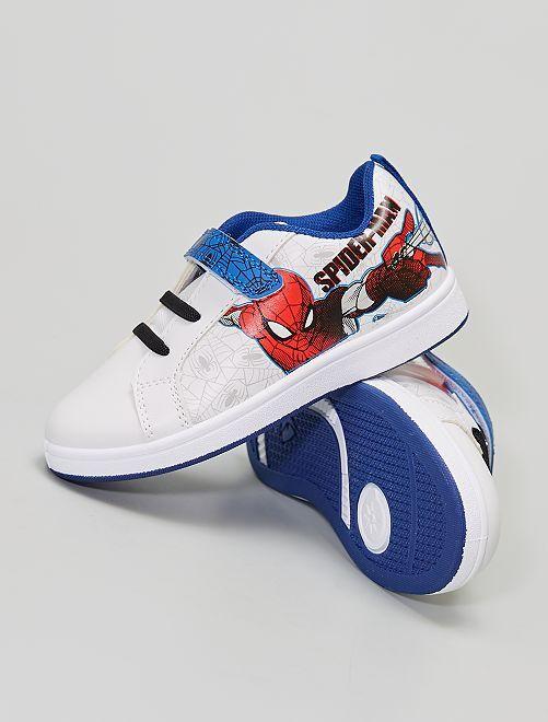 Witte sneakers met Spider-Man-print                             WIT